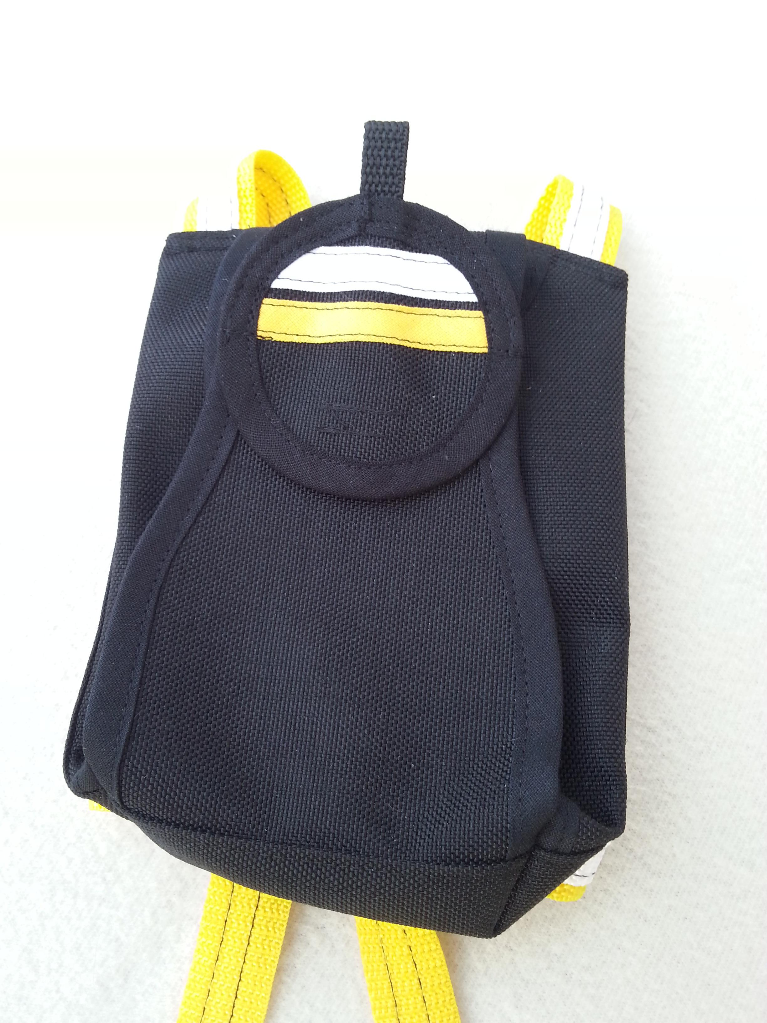 Packsack in schwarz