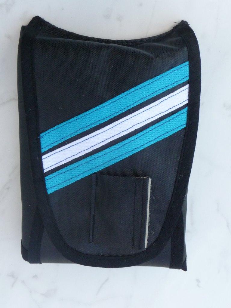 Packsack mit Streifen
