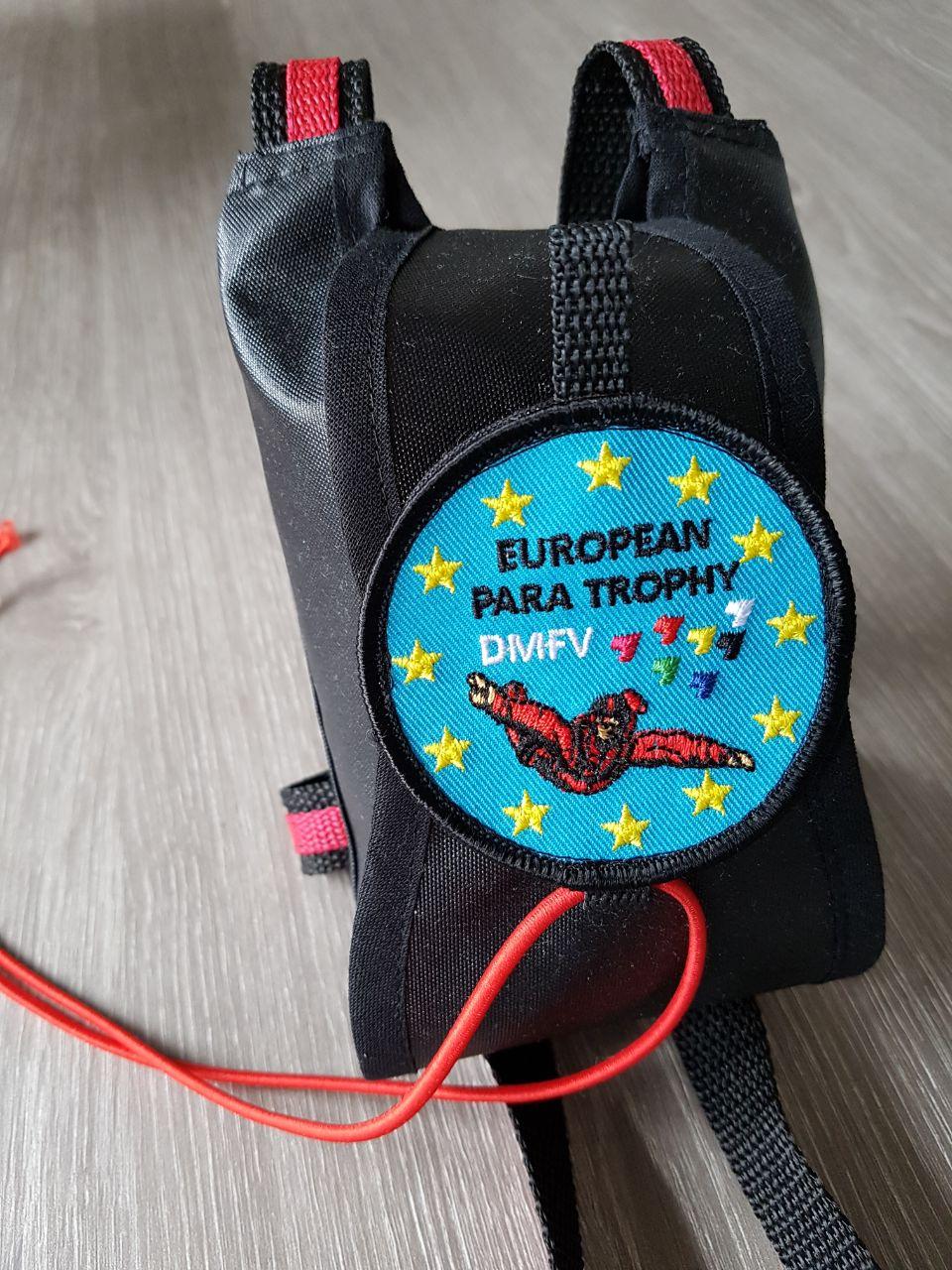 Packsack mit Emblem
