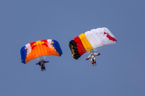 Fallschirme von Kunden